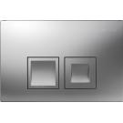 Geberit 115.135.46.1 смывная клавиша DELTA50 пластик-хром матовый