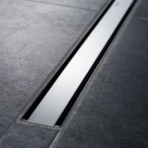 Geberit Крышка душевого канала CleanLine 60 (вровень с полом): 30-130 cм тёмный /потёртый мет Арт 154.457.00.1