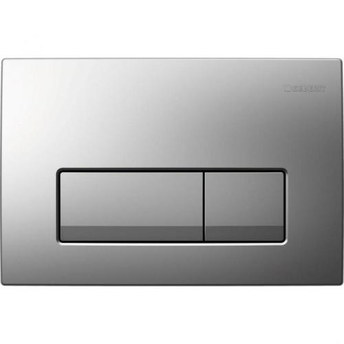 Geberit смывная клавиша DELTA51 (пластик/хром) Арт 115.105.21.1