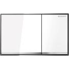 Geberit Смывная клавиша OMEGA60 (белое стекло) Арт 115.081.SI.1