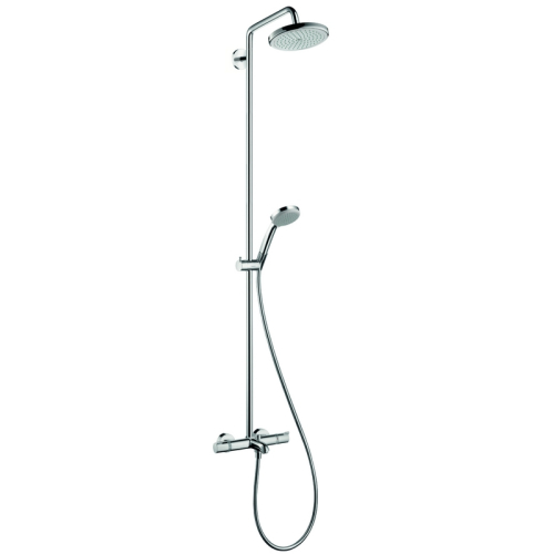 Hansgrohe 27223000 Душевой набор Croma 220 Showerpipe для ванны