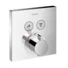 Hansgrohe 15763000 Термостат ShowerSelect на 2 пользователя наружная часть