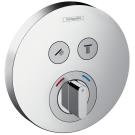 Смеситель ShowerSelect S на 2 потребителя Hansgrohe 15748000