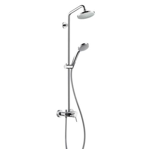 Croma 100 Showerpipe душевая система Hansgrohe 27154000