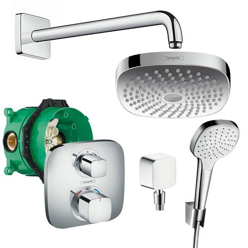 Душевой набор Croma Select E/Ecostat Hansgrohe 27294000