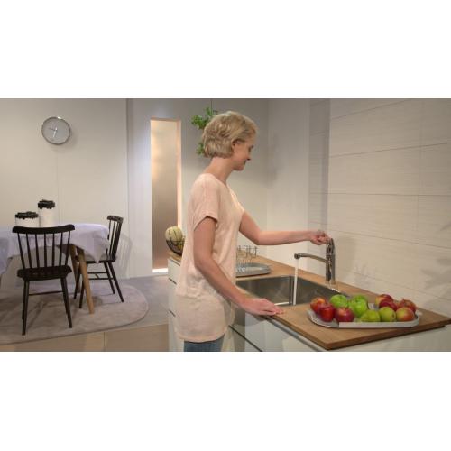Logis 160 кухонный смеситель с поворотным изливом 360 Hansgrohe 71832000