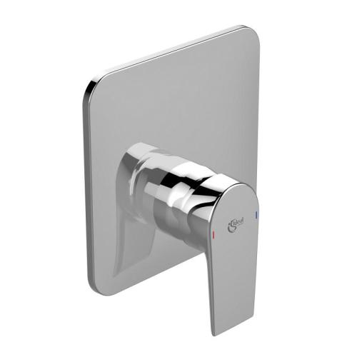 Теси смеситель встраиваемый для душа для комбинации с A1000NU картридж 47 мм функция HWTC & CLICK металлическая рукоятка обратный клапан хром Ideal Standard A6585AA