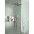 Идеал Рейн Куб M3 душевая лейка (дождь моросящий дождь массаж) 100мм держатель шланг 1750мм хром Ideal Standard B0020AA
