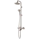 Идеал Рейн ЭКО система душевая ванна/душ 200 мм с термостатом для ванны/душа Сератерм 25 еко хром Ideal Standard A6426AA
