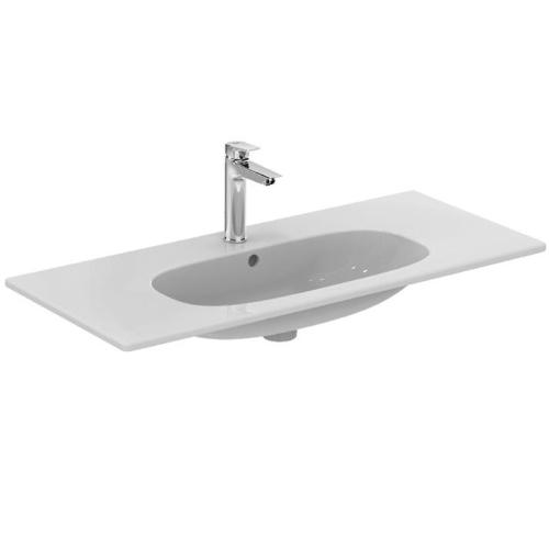 Теси умывальник мебельный плоский 80 см для монтажа соло или с подстольем 800мм белый Ideal Standard T350901