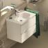 Теси умывальник мебельный плоский 60 см для монтажа соло или с подстольем 600мм белый Ideal Standard T351001