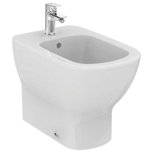 Теси биде напольное пристенное белый Ideal Standard T354001