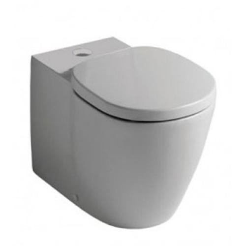 Коннект AQUABLADE пристенный напольный унитаз для монтажа с бачком горизонтальный слив белый Ideal Standard E039701