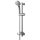 Идеал Рэйн набор душевой (лейка 3-функциональная d100 мм, штанга 600 мм, шланг 1750 мм, мыльница пластиковая прозрачная) Ideal Standart B9415AA
