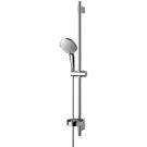Идеал Рэйн набор душевой (лейка 3-функциональная d120 мм, штанга 900 мм, шланг 1750 мм, мыльница пластиковая хромированная) Ideal Standart B9427AA