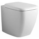 Вентуно унитаз соло напольный пристенный, универсальный слив, с сиденьем и крышкой с микролифтом Ideal Standart T316301