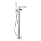 ТоникII смеситель для ванны/душа напольный, с душевым гарнитуром, для монтажа с комплектом A6133NU, хром Ideal Standart A6347AA