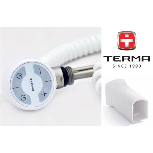 TERMA Электронагреватель MOA MS без вилки белый 400W
