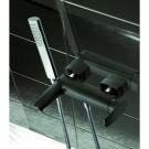 LaTorre Studio Смеситель для ванны с душевой лейкой черный 31019
