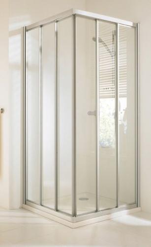 Hueppe Alpha дверь раздвижная 3-секц прозрачная 100x100x190