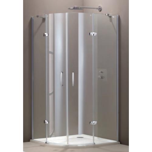 Hueppe Aura elegance дверь распашн 2х-ств с неп сегмент 90x90x190
