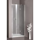 Hueppe Aura elegance дверь распашная с неподв сегм правая 90x190