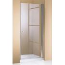Hueppe 501 Design дверь распашная хром прозрачная 90x190