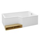 E6D002R-00 ванна BAIN-DOUCHE NEO правосторонняя 170х90 Jacob Delafon