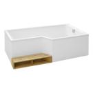 E6D004R ванна BAIN-DOUCHE NEO правосторонняя 180х97 Jacob Delafon