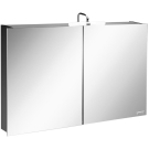 EB874RU-NR шкаф зеркальный ODEON UP 100х15,5x65 (тем.дер Jacob Delafon