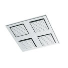 E8030-CP душ WATERTILE верхний квадратный (хром) Jacob Delafon