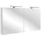 EB798RU-N18 Шкаф зеркальный 120 см (бел блест.ламинат) Jacob Delafon