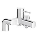 E37043-CP смеситель CUFF ванна/душ на деку (хром) Jacob Delafon