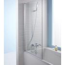 E6D042-GA шторка для ванны STRUKTURA 80х140 (хром) Jacob Delafon