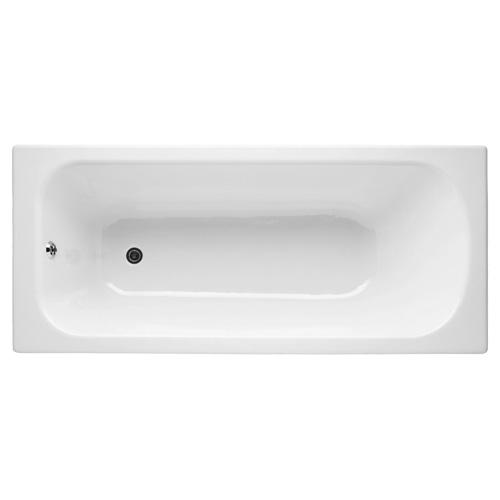 E2953-F-00 ванна прямоугольная CATHERINE чугунная 170х75 с антиск. покрыт. с отв. для ручек (белый) Jacob Delafon