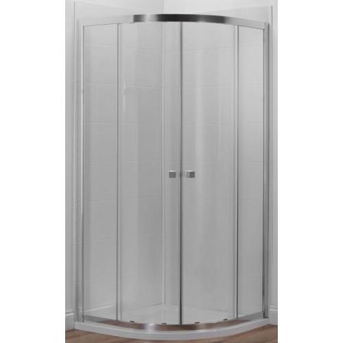 E14R80-GA душевое ограждение SERENITY полукруглое стекло 6 мм прозрачное профиль хром 80х80 Jacob Delafon