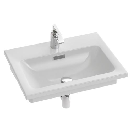 EXAF112-Z-00 раковина-столешница VOX мебельная 60х46 (белая) Jacob Delafon