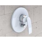 Kludi 526509175 смеситель BALANCE для ванны и душа (бел.хром)