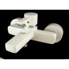 Kludi 386709175 смеситель ZENTA для ванны/душа(бел/хром)