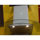 Вытяжка ANCONA PLUS Maunfeld 900 мм белый (W) +прозрачное стекло