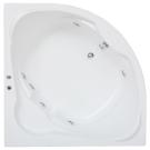 BAS Угловая ванна акриловая Хатива (Xativa) 143x143