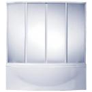 Шторка для ванны Фиеста (пластик Вотер) BAS