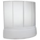 Шторка для ванны Лагуна (пластик Вотер) BAS 170x110