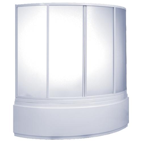 Шторка для ванны Фэнтази (пластик Вотер) BAS 150х90