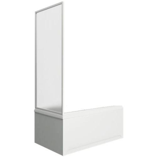 Шторка для ванны Мальта боковая часть (пластик Вотер) BAS 75 см