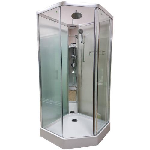 Appollo Душевая кабина TS-6032 S 95x95x210 прозрачное стекло