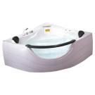 Appollo TS-2121 акриловая ванна со смесителем 152х152х71 см