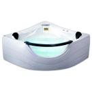 Appollo TS-2121 Ванна пустая без смесителя и сифона (с подголовниками) без гидромассажа 1520х1520х600 мм
