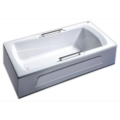 Appollo Ванна TS-1702Q 170х75x55 с панелью без г/м с ручками