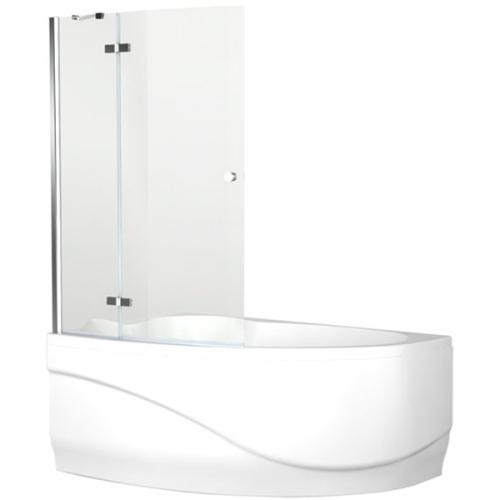 Aquanet NF7221-1 hinge Beta 3 шторка дл ванны Mayorca универсальная 955x1400 стекло прозрачное 5 мм петли хром (196052)